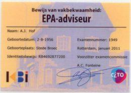 epa-adviseur-registratie-kaart